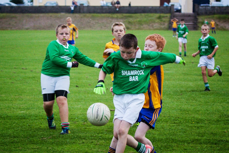 Cian O'Flaherty scoring a goal V Grenagh, 28/8/13