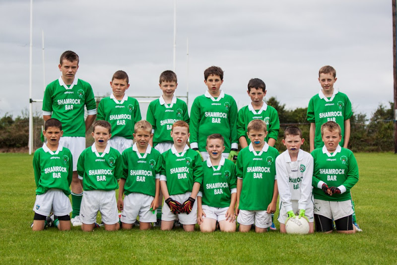 Back row, l to r: Evan Seymour, Dylan O'Flaherty, Sean Browne, Sam Geary, Luke ODriscoll, Jody Sisk. Front: Robert Van Pelt, Harry Andrews, Sean Andrews, Fionn Herlihy, Dylan Gregson, Mark Sisk, Cian O'Flaherty, Jeff Farquer.