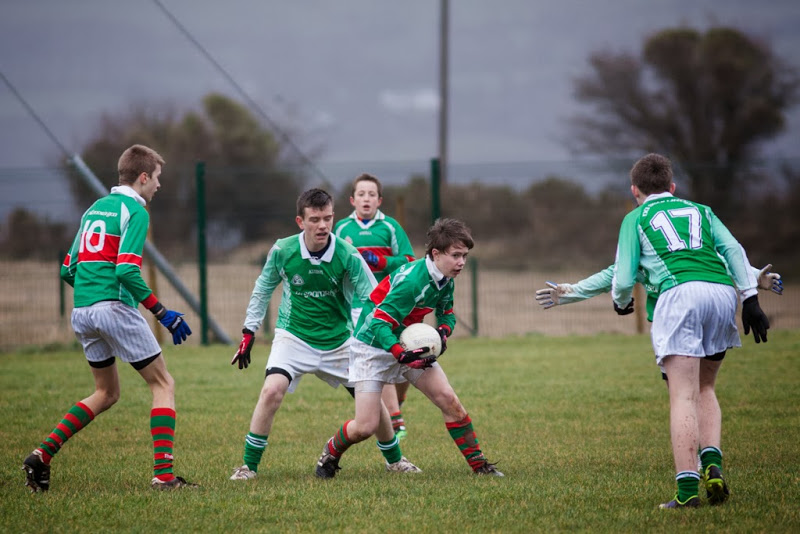 Action from Shamrocks V Ballinora, 22/2/14