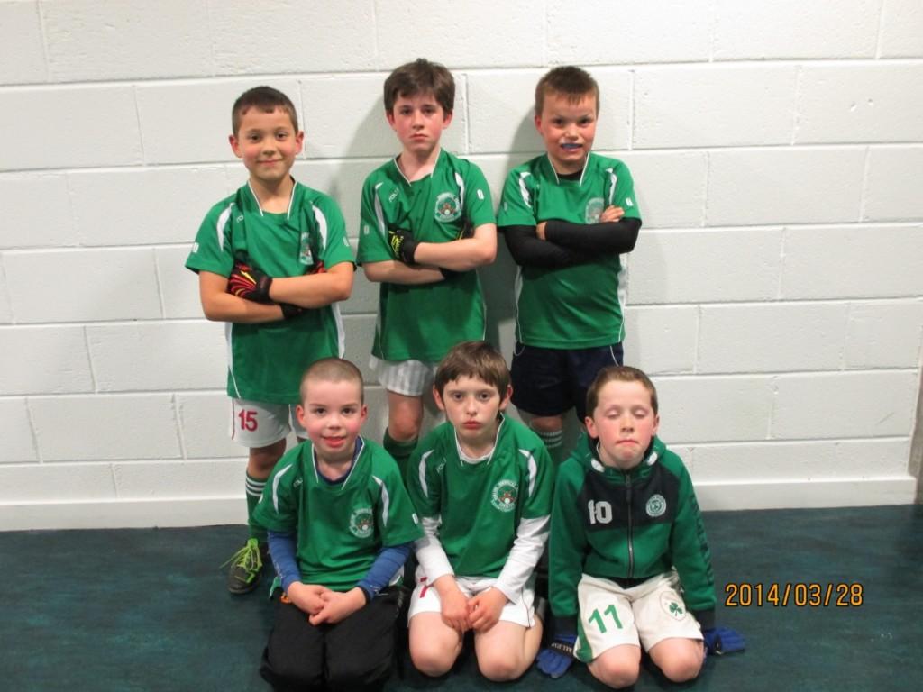 Team Green - Mark Galland, Aiden Brady, Josh Barrett, Diarmuid Cahill, Nathan O'Sullivan, Barry O'Mahony