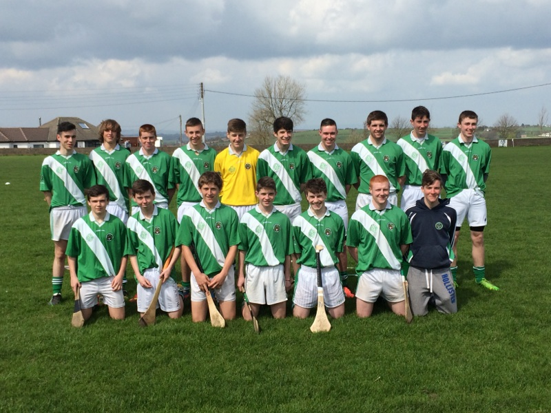 Minor Panel V Brian Dillons, Tank Field, 19/4/14. Back row, l to r: Shane Kelleher, Andrew O'Grady, Sean Kidney, Eric Desmond, Cormac Scriven, Tom Murphy, David Raleigh, Rory Horgan, Shane Flavin, David Barry. Front, l to r: Christopher Hayes, Brendan Crowley, Darragh Scriven, David Andrews, Aonghus Boland, Coby O'Grady, Mark Hitchmough.