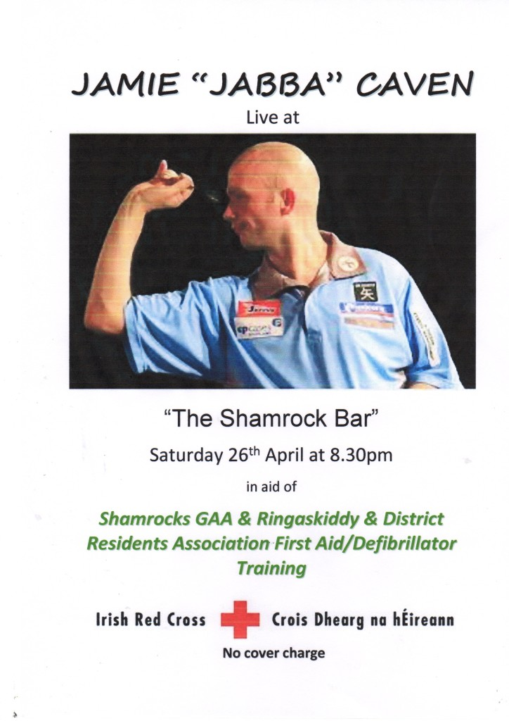 Shamrock Bar, Sat Apr 26th