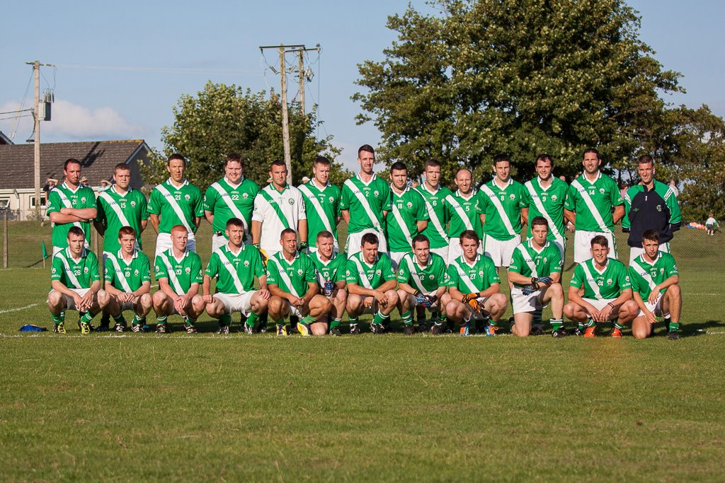 Shamrocks panel V Ballygarvan in Minane, 6/8/14. Back rowm l to r: R. Murphy, D. O'Sullivan, G. Prout, S. Downey, F. O'Neill, C. Kidney, S. Hurley, S. Collins, M. O'Neill, M. Prout, B. Mulqueen, A. McCarthy, B. Sweeney, D. O'Neill. Front, l to r: R. Twomey, S. Kidney, C. O'Grady, C. O'Neill, S. Andrews, D. Hayes, S. O'Neill, J. Shanahan, J. Tuohy, E. O'Mahony, E. O'Mahony, C. Caffrey.