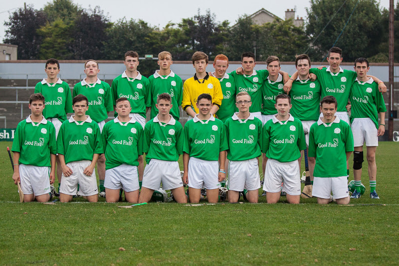 Shamrocks U16 panel who played the Co Final V Killavullen in Pairc Ui Rinn on 12/9/14. Back row, l to r: C. Hayes, N. Hayes, D. Barry, A. O'Grady, C. Scriven, C. Corkery, J. Lynam, M. Hitchmough, K. Murphy, S. Flavin, D. O'Mahony. Front, l to r: C. Murphy, C. Hayes, M. Field, D. Andrews, R. Meighan, A. O'Keeffe, S. Downey, E. Seymour.