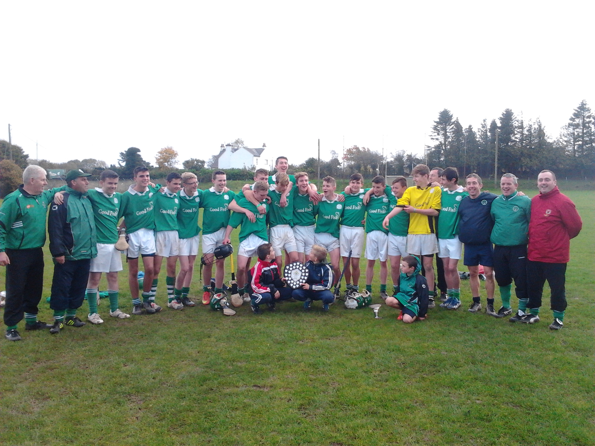 U16 Hurling League Winners, 18/10/14