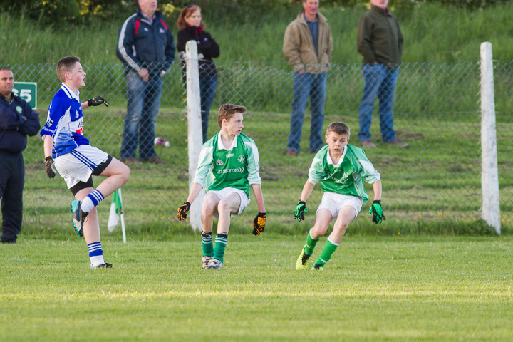The Sisk brothers in championship action V Clondrohid, 29/5/15