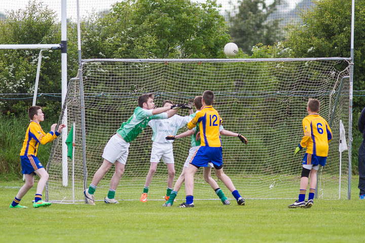 Evan Seymour, Cian O'Flaherty and Jody Sisk keep Grenagh out in 14 CFC Squarter final, 4/6/15