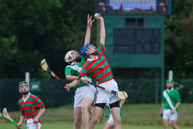 Great action photo from Shamrocks V Tracton, MBHL, 25/6/15
