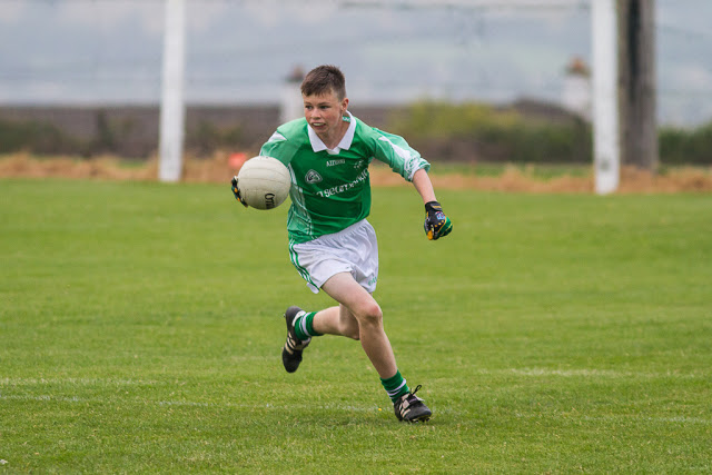 Seán Browne looks up in action in the final V Crosshaven, 16/6/15