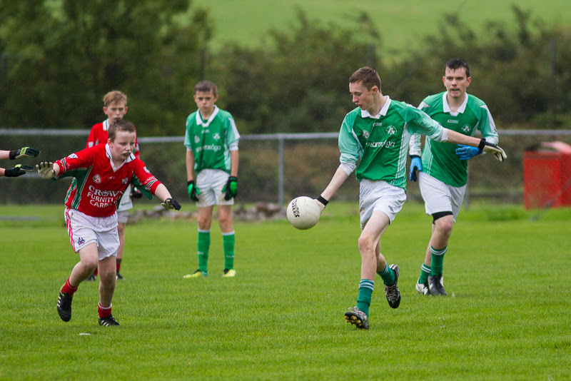 Jody Sisk in action V Doneraile