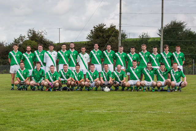 Shamrocks V Ballinhassig, JAFC Final, @ Riverstick, 30/8/15. Back row, left to right: Darragh Scriven, Ronan Murphy, Shane Downey, Jack Wilson, Barry Mulqueen, Stephen Hurley, Alan McCarthy, Fergus O Neill, Brian Sweeney, Alan McCarthy, Cathal Kidney, Seanan Collins, Philip Brady, Roy Twomey, Mark Hitchmough, Sean Kidney. Front, l to r: Senan Andrews, Aonghus Boland, David Hayes, Darragh O Sullivan, Jason Browne, Jonathan Tuohy, Robbie Harrington, Michael Prout, Chris O Neill, Joe Shanahan, Cannice Caffrey, Coby O Grady.