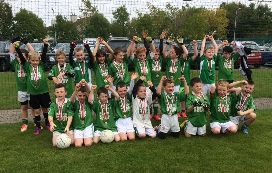 U8 football Blitz in Nemo Rangers on 3/10/15