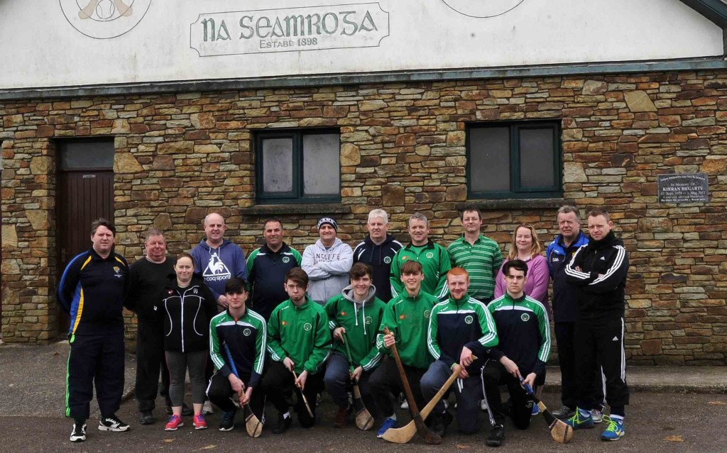 Award 1 Coaching Course, March 5th & 12th, 2016. Some of the group pictured: Standing, left to right: Pa Andrews (tutor), Vincent Coyne, Gemma Kavanagh, Seamus O'Flynn, John Jordan, Tim Hayes, Peter Crowley, Dick Andrews, Kevin O'Grady, Niamh O' Brien, Brendan O'Driscoll (tutor), Jason Deasy. Front, left to right: James Lynam, Brendan Crowley, Mark Hitchmough, Andrew O'Grady, Coby O'Grady, Shane Kelleher. Missing from the photo - Aidan O'Leary, David Nolan, Lorcan Aherne, Andrew O'Neill, Matthew Fleming, Kieran Lynam, Aidan McGrath (Picture from George Hatchell)