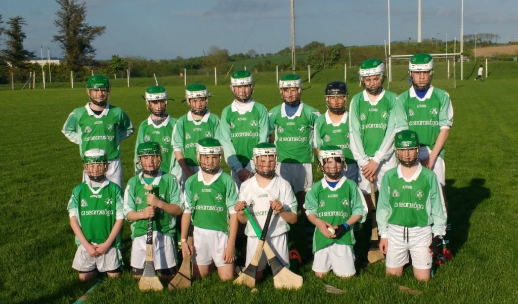 Shamrocks U14 HC V St Vincents, 19/5/16. Back row, l to r: Adan McSweeney, Adam Maye, Harry Andrews, Cian O'Flaherty, Seán Andrews, Tim Sheehan, Mark Sisk, Philip Dorney. Front, l to r: Daniel O'Brien, Aiden Brady, Michael Foy, Eoin O'Flynn, Robert Barrett, John Coleman.