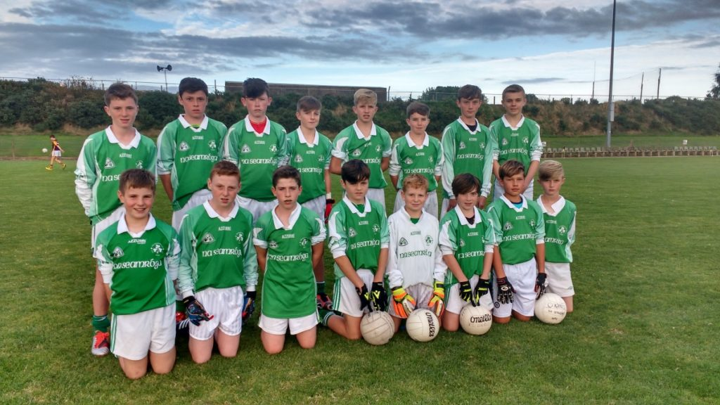U14 FC away to St Catherines./ Back row, l to r: J. Colerman, P. Dorney, C. O'Flaherty, D. Gregson, S. Andrews, H. Andrews, S. Darcy, M. Sisk. Front: E. O'Flynn, F. Herlihy, A. Brady, M. Foy, D. O'Brien, R. Barrett, T. Sheehan, A. Maye