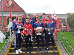 All-Ireland minor cup visit to Shanbally school