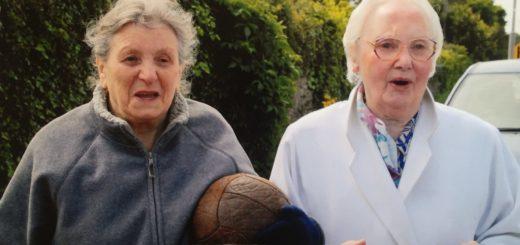 Peig McCarthy and Kathleen Farrell.