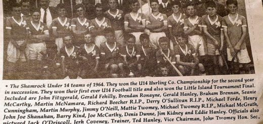 U14 Hurling champions 1964