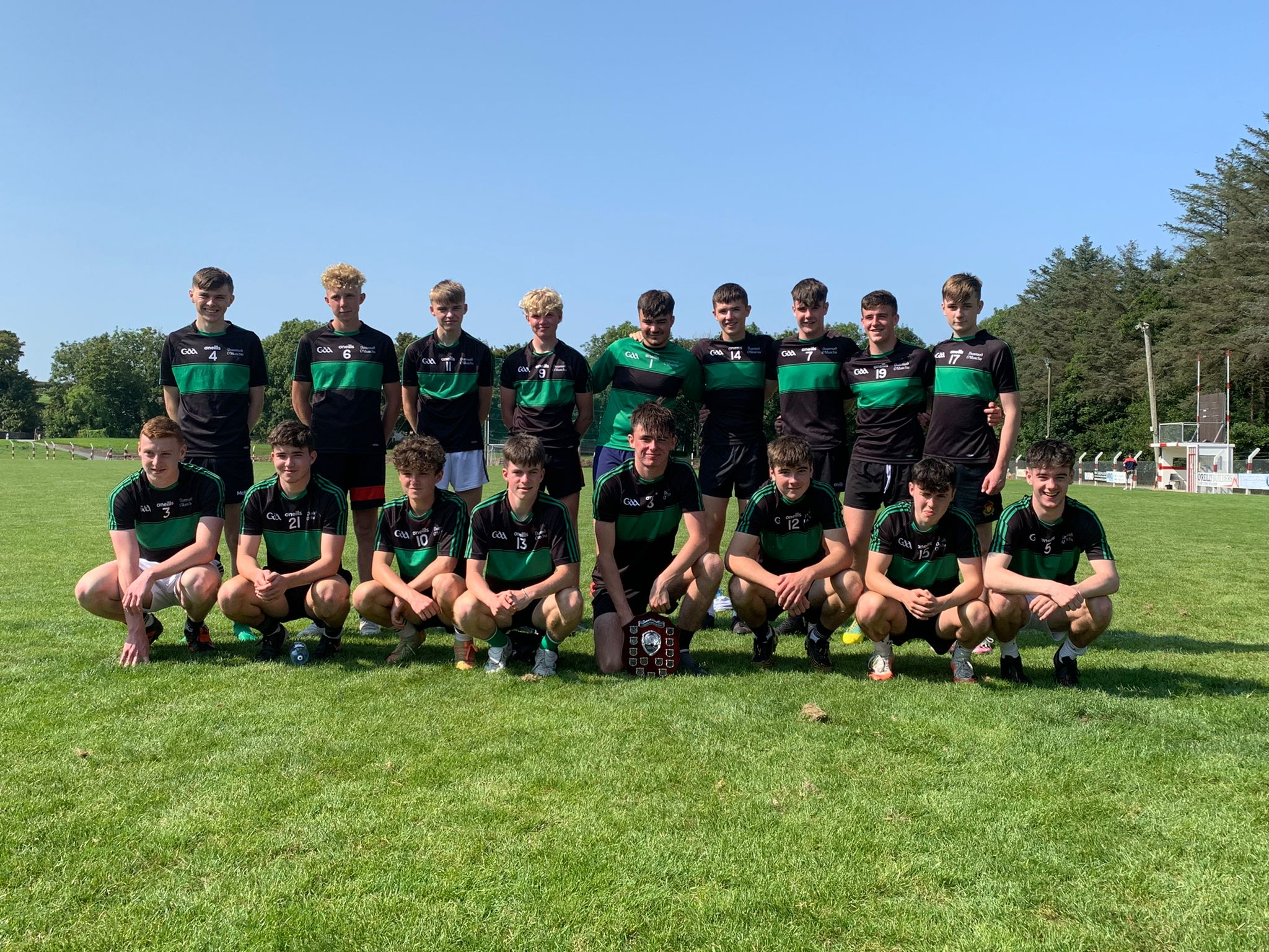 DÓMs v Courcey Rovers, U18 Aug 2021